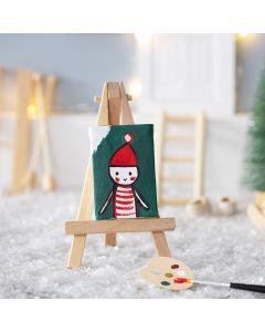 The Elf's Self Portrait for his Elf's Door