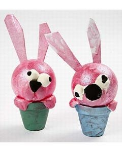 Potty Easter animals