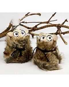Forest trolls with papier-mâché pulp