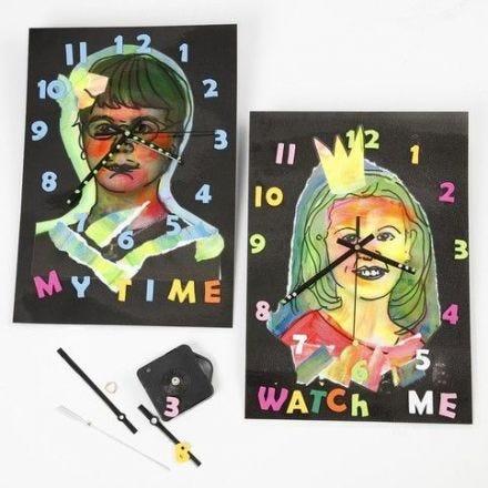Laminated Clocks
