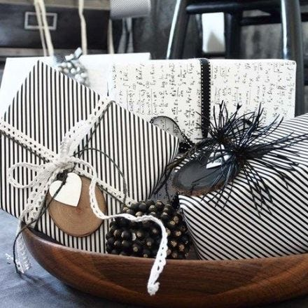 Gift Wrapping with Vivi Gade Design Paper (the Paris series)