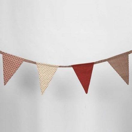 Bunting with Vivi Gade Design Fabric (the Copenhagen series)
