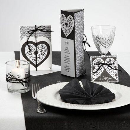 A Card Series with Design Paper, a Filigree Heart & Natural Hemp