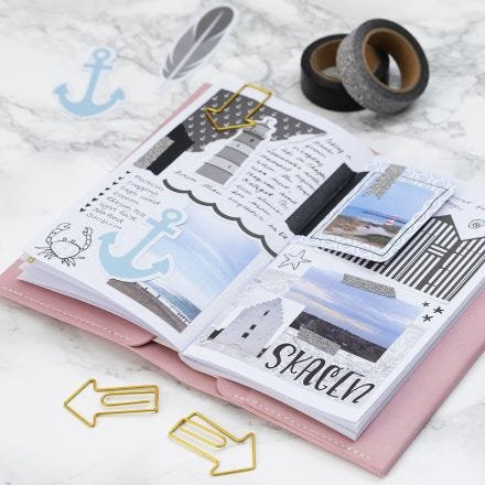 Travel Memories in a Bullet Journal and Planner