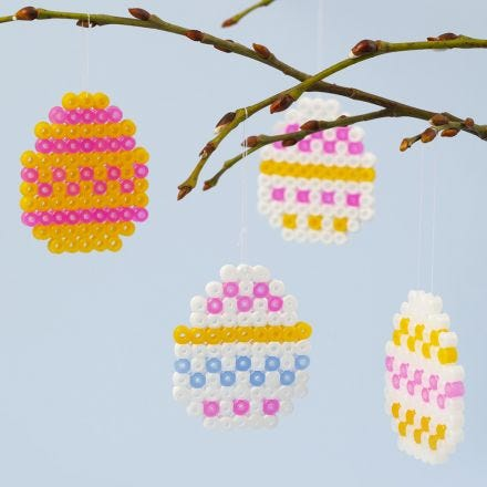 Easter Eggs from Nabbi Fuse Beads