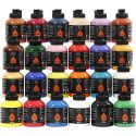 Pigment Art School Paint, assorted colours, 24x500 ml/ 1 pack