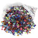 Rhinestones, size 5 mm, 3000 pc/ 1 pack