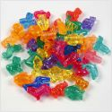 Novelty Shape Beads, size 25 mm, hole size 4 mm, 125 ml/ 1 pack