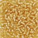 Rocaille Seed Beads, D: 3 mm, size 8/0 , hole size 0,6-1,0 mm, gold, 25 g/ 1 pack