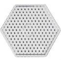 Peg Board, hexagon, JUMBO, transparent, 1 pc