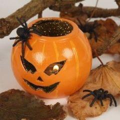 Spooky pumpkin lights