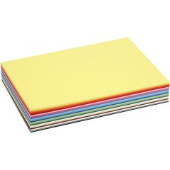 Creative Card, A4, 210x297 mm, 180 g, assorted colours, 30 ass sheets/ 1 pack