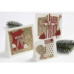 Cards with Christmas Boots