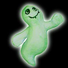 Luminescent Papier-Mâché Ghosts