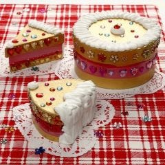 Cakes made from Papier-Mâché Boxes