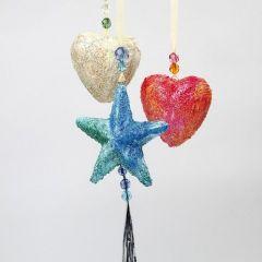 Polystyrene Stars and Polystyrene Hearts