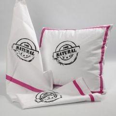 Screen Stencil Prints on a Tea Towel and a Cushion Cover