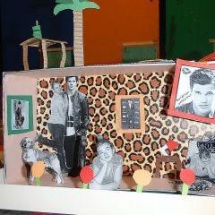 A Dream Room in a Shoe Box Frame