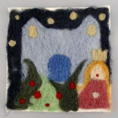 A Needle-felted Picture