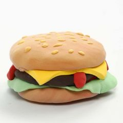 A Magnet with a Silk Clay Burger