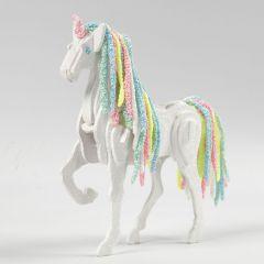 A Horse transformed into a Unicorn