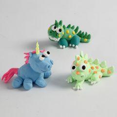 Silk Clay Fairytale Creatures
