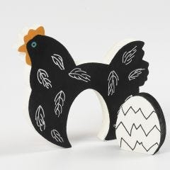 Wooden 2-in-1 Easter Decoration