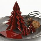 Christmas Trees from folded glossy Origami Paper