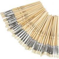 YellowLine Brush Set, no. 6+8+10+12, 48 pc/ 1 pack