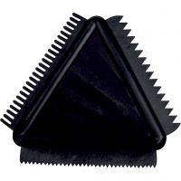 Rubber Texture Combs, size 9 cm, 1 pc