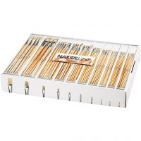 Nature Line Brushes, no. 00-22, long handles, 10x12 pc/ 1 pack