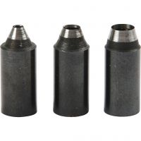 Screw Punch Tips, hole size 2+3+4 mm, 3 pc/ 1 pack