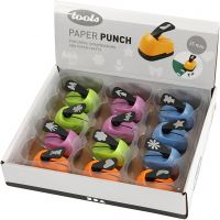Paper Punches, everyday motives, size 25 mm, 12 pc/ 1 pack