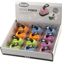 Paper Punches, christmas motives, size 25 mm, 12 pc/ 1 pack