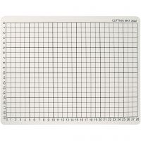 Cutting Mat, size 22x30 cm, thickness 3 mm, 1 pc