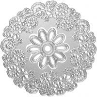 Die Cut and Embossing Folder, floral madness, D: 10,5 cm, 1 pc
