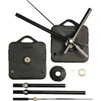 Clockwork Mechanics, plate max thickness 3 mm, black, 1 set