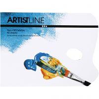 Tear-Off Palettes, L: 31 cm, W: 23 cm, 1 pc
