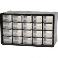 Organiser Cabinet, no. PC 20, size 18,4x30,5x14,9 cm, 1 set