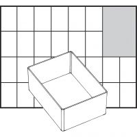 Insert Box, no. A7-1, H: 47 mm, size 109x79 mm, 1 pc