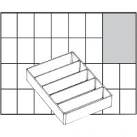 Insert Box, no. A75 Low, H: 24 mm, size 109x79 mm, 1 pc