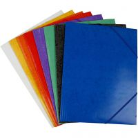 Flap Elasticated Folder, A4, 22,9×32,4 cm, 24 pc/ 1 pack