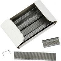 Staples, no. 6/4, W: 6 mm, 10x1000 pc/ 1 pack