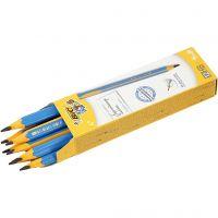 Kids Pencil, L: 14 cm, thickness 10 mm, lead 4 mm, 12 pc/ 1 pack