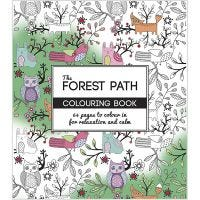 Mindfullness Colouring Book, The Forest Path, size 19,5x23 cm, 64 , 1 pc