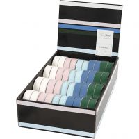 Curling Ribbon, W: 18 mm, assorted colours, 40x25 m/ 1 pack