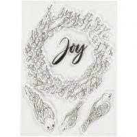 Silicone Motives, joy, size 10,5x15 cm, 1 sheet