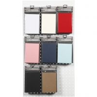 Cards, card size 10,5x15 cm, 220 g, assorted colours, 8x10 pack/ 1 pack