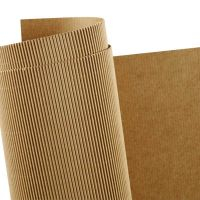 Corrugated Card, 50x70 cm, 120 g, 10 sheet/ 1 pack