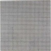 Cross Stitch Plastic, size 14x14 cm, hole size 3x3 mm, black, 5 sheet/ 1 pack